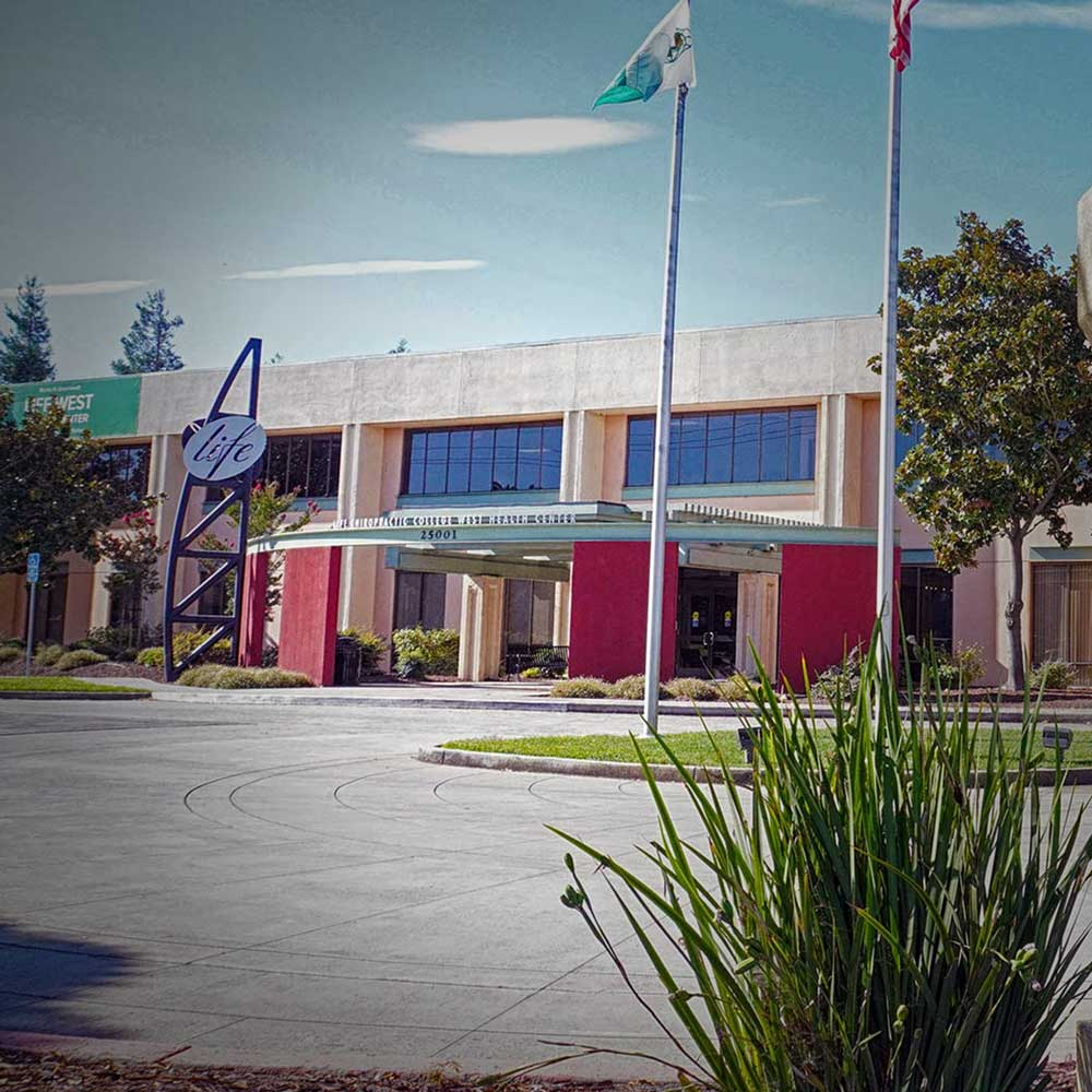 Front of Life Chiropractic College West in Northern California