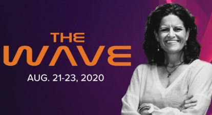 Dr. Mindy Pelz speaks at Wave 20